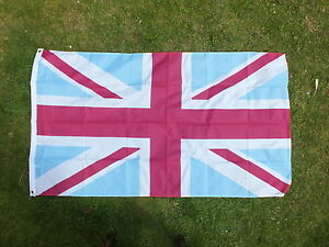 West-Ham-United-Blue-Claret-UK-Flag-Union-Jack-The-Irons-Hammers-Upton-Park-bn