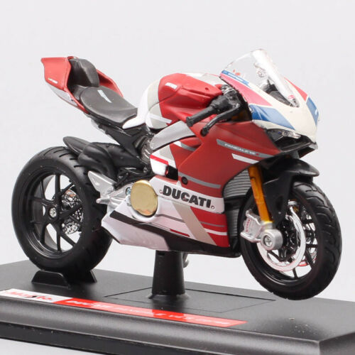Maisto 1//18 Ducati Panigale V4 GP Corse race scale motorcycle model Diecast Toy