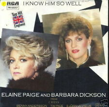 ELAINE PAIGE & BARBARA DICKSON 45 TOURS GERMANY (ABBA)