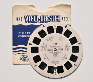 View-Master-PETRIFIED-FOREST-ARIZONA-National-Monument-USA-Foret-Petrifiee