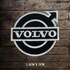 Volvo-Car-Band-Embroidered-Iron-On-Sew-On-Patch-Badge-For-Clothes-etc