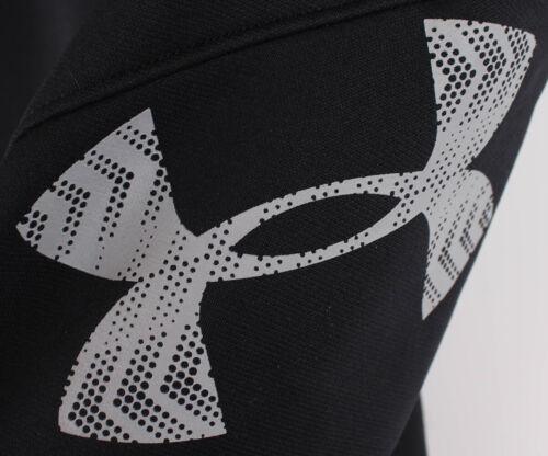 Under Armour Jungen Fitness AF Storm Big Logo Pants Hose Black Größe YLG//G