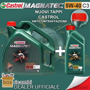 Olio-CASTROL-MAGNATEC-5W40-C3-Motore-DIESEL-BENZINA-5-LT-Litri-CASTROL-ITALIA
