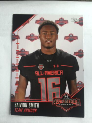 Saivion Smith 2016 Topps Under Armour All America Football Card LSU Tigers