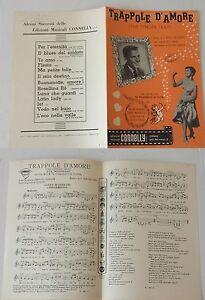 TRAPPOLA-D-039-AMORE-The-Tender-Trap-spartito-musicale-originale-1956-SINATRA-REYNOL