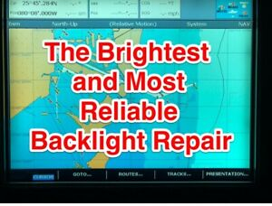 Details about Raymarine E120 Classic Backlight Repair