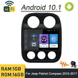 "10.1/"" sistema operacional Android 3G//Wifi Bt Usb Carro Navegação GPS Rádio estéreo para Jeep Patriot"
