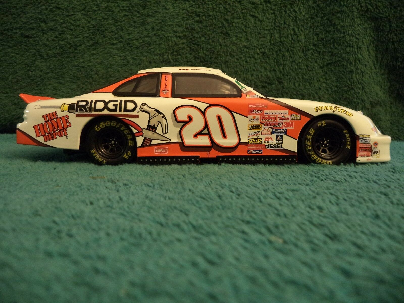 Tony Stewart Home Depot LIMITED EDITION Habitat for Humanity 1999 Pontiac