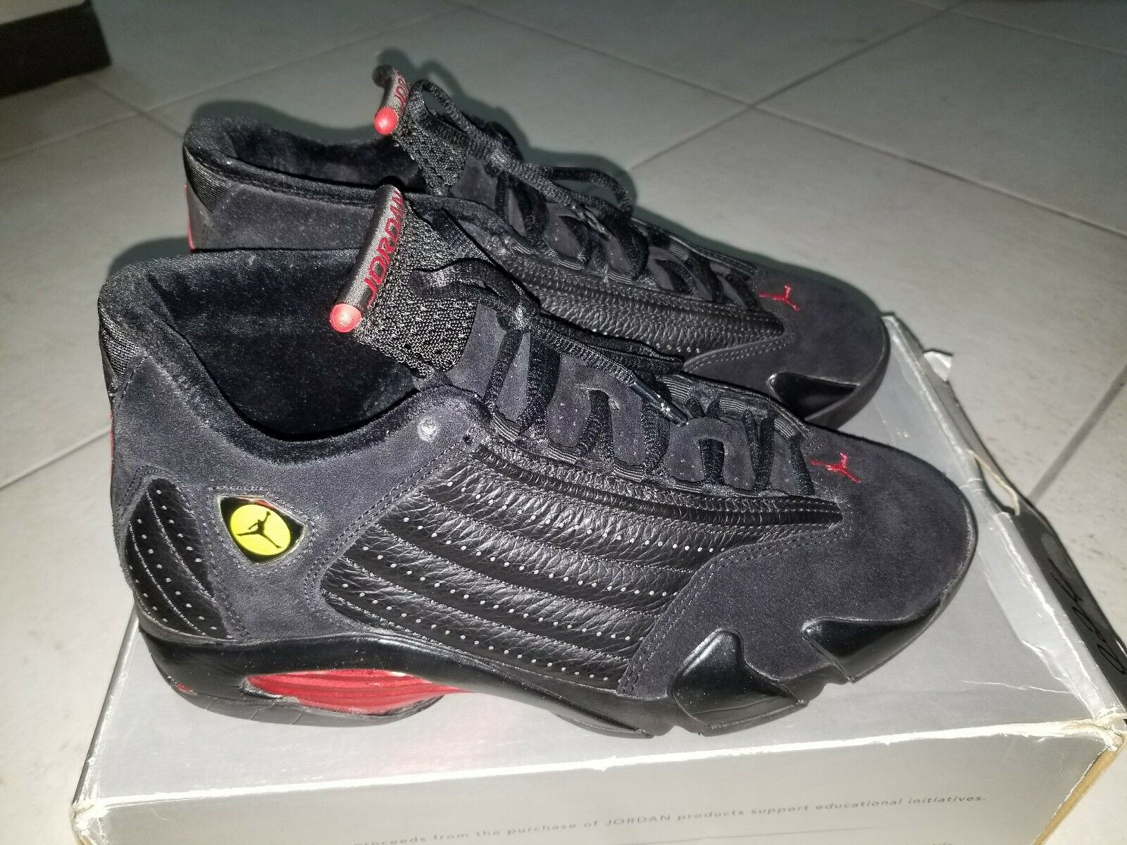 Nike Air Jordan 14 Red-Black Retro Black/Varsity Red-Black 14 311832 002 size  9 c5aed0