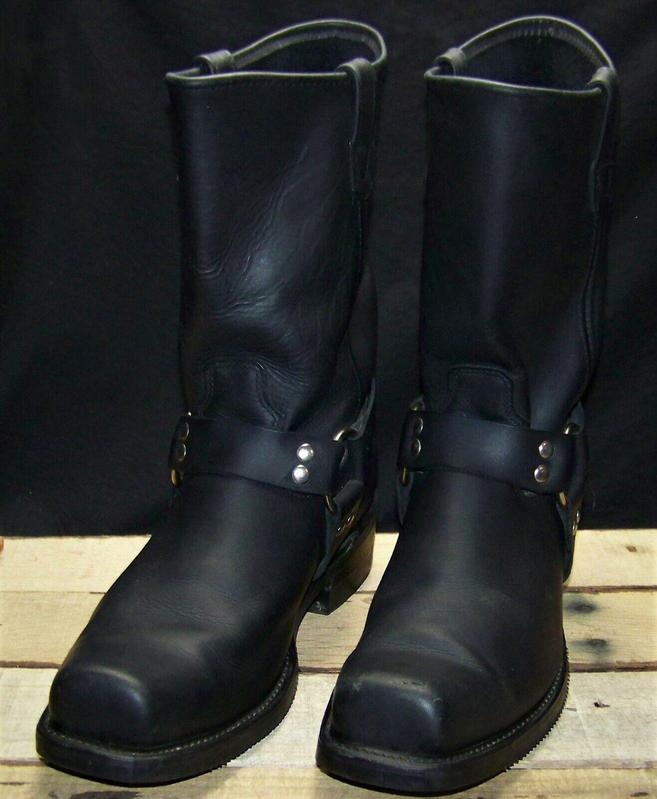 Men's Double H Harness Boots (13 D black)