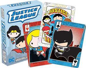 JUSTICE-LEAGUE-CHIBI-PLAYING-CARD-DECK-52-CARDS-NEW-DC-COMICS-52472