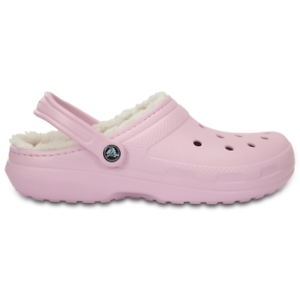 c355202607b7 Image is loading Crocs-CLASSIC-LINED-CLOG-PINK-pink-mod-203591-
