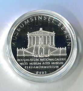 Medaille Zu Den Deutschen 10 Euro Münzen Museumsinsel 2002