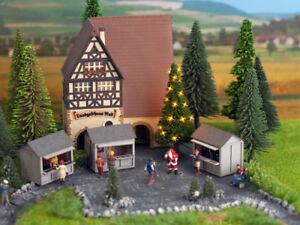 NOCH-11911-Gauge-H0-Green-Christmas-Christmas-Tree-Illuminated-New-Original