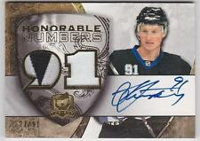 Steven Stamkos 2008-09 The Cup Honorable Numbers Dual 2 Color Patch Auto /91