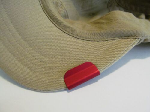 """US Army /""""Skull/"""" Jump Wings Death From Abv Laser Etched Aluminum Hat Clip Brim-it"""