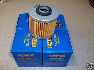 1998 1999 2000 2001 YAMAHA GRIZZLY 600 YFM600 *3 PACK* HIFLO OIL FILTERS FILTER