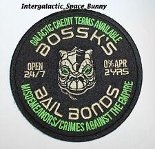 2013 Star Wars Celebrartion 6 VI Bossk Bail Bond Patch (ORIGINAL ISSUE)