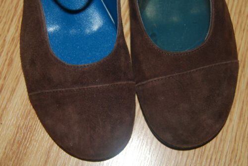 Robert 5 244 Suede Nuovo 9 Wedge Brown Heels Jane Pumps Espace Vtg Clergerie Mary dxIqwPdOf