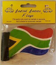 South Africa Rainbow Nation World Cup Flag Car Aerial topper Bargin inc UK P&P