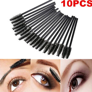 New-10Pcs-Oblique-Design-Rotate-Eyebrow-Brush-Cosmetic-Brow-Brush-Makeup-Tool