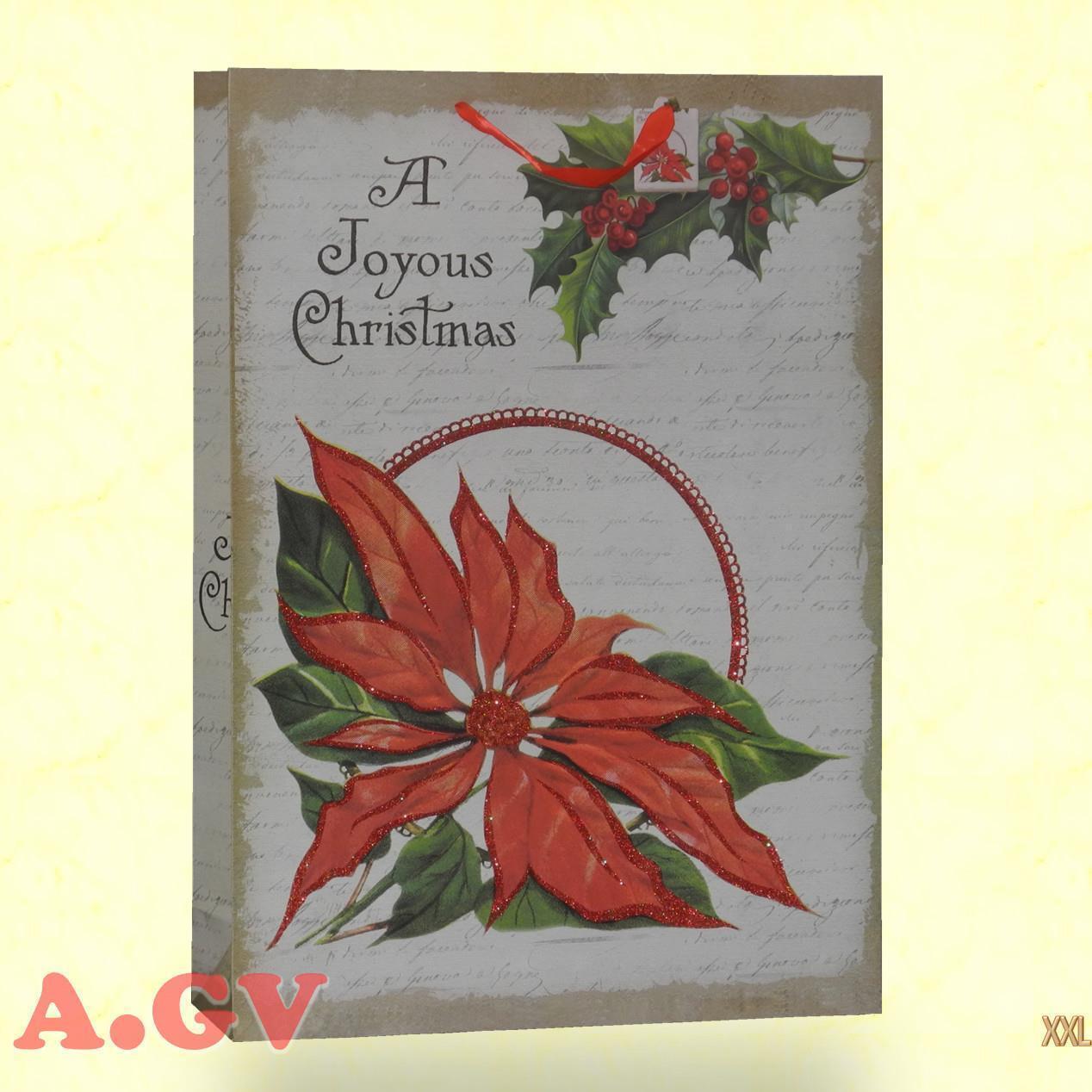 60 Weihnachtstasche Weihnachtstüte Geschenktüte 200 g m² 50x70 Papiertragetasche