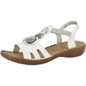 braid Rieker riverside Schuhe Somerset White Sandalen 81 608t8 Dauomo Freizeit wwqHr