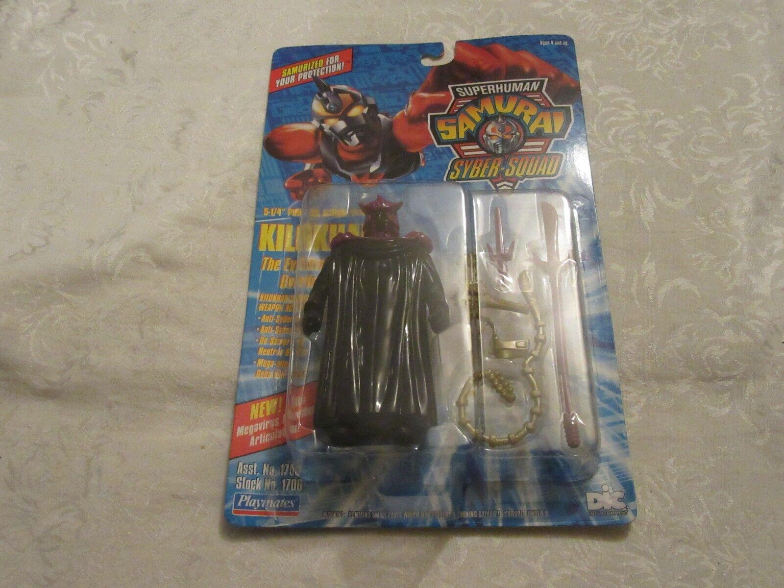 Playmates 1994 Superhuman Samurai Syber-Squad 5 1/4  Kilokhan Action Figure
