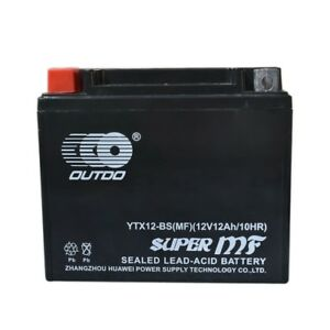 YTX12-BS-BATTERY-FOR-HONDA-RECON-ATC-BIG-RED-250-ODYSSEY-350-TRX200-FL350-TRX250