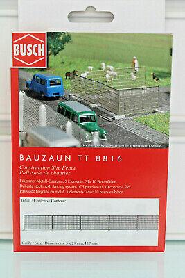 Industrioso Busch 8816-tt 1:120 - Cantieri-nuovo In Scatola Originale-mostra Il Titolo Originale