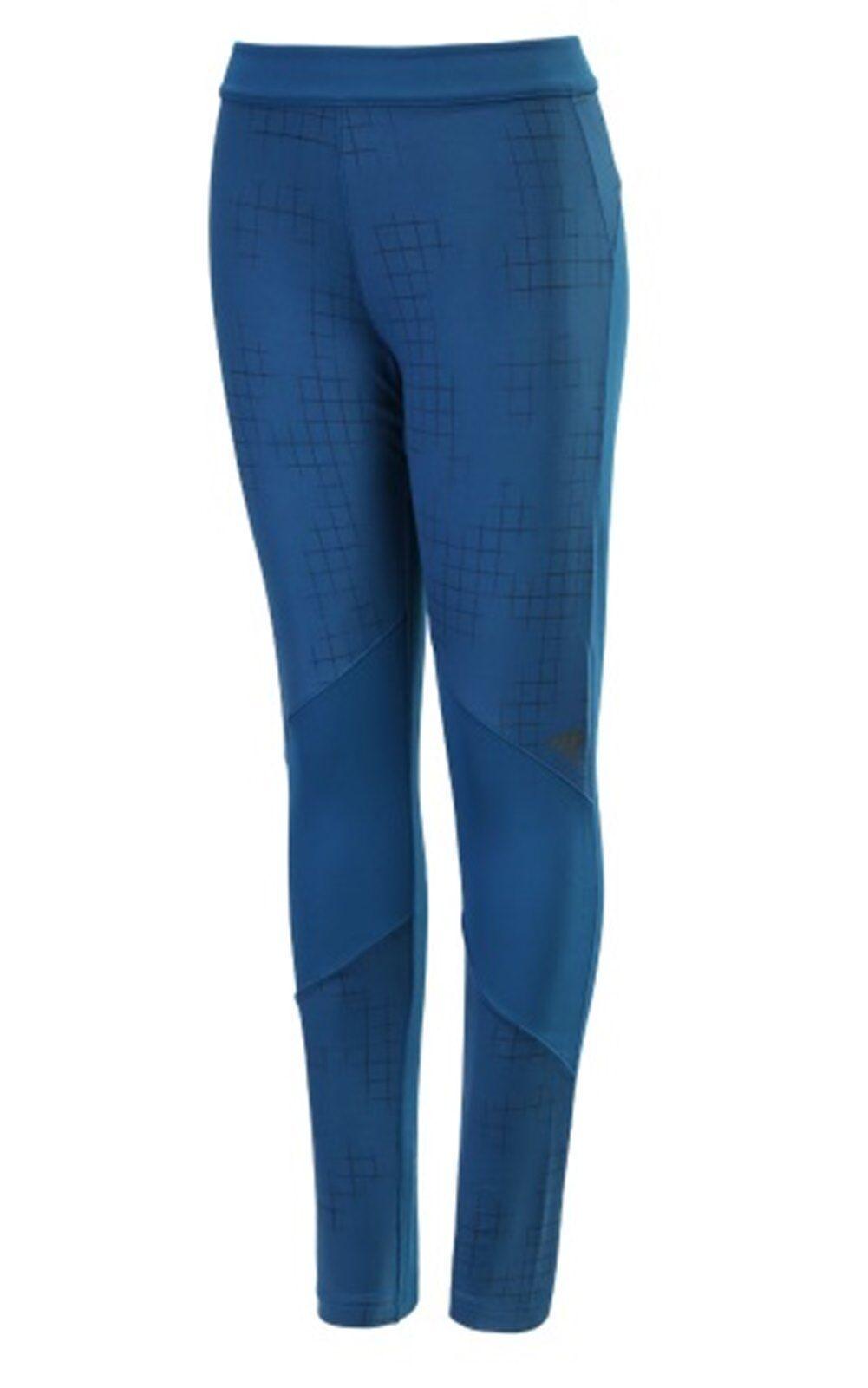 Adidas Women Tech-fit Long Climawarm Pants Training Tight Fitness Pant AY6119