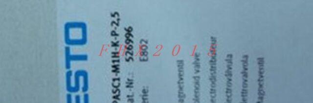 NEW for Festo CPASC1-M1H-K-P-2,5 CPASC1-M1H-K-P-2.5