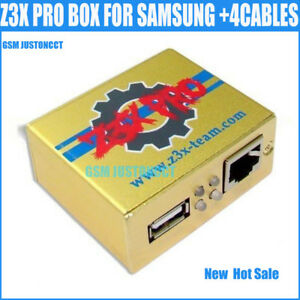 Details about Z3X BOX Gold Version Activate Samsung Tool Pro For Repair  +3cables forS7