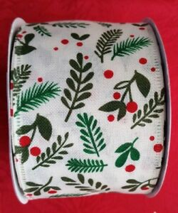 image is loading maker 039 s holiday christmas wired ribbon 2 - Christmas Wired Ribbon