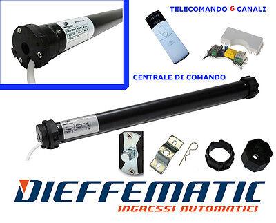 Kit automazione tapparelle motore tubolare 50Nm 100kg + centralina + TELECOMANDO