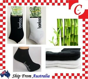 Clothing, Shoes & Accessories Just Men Mens Women Bamboo Low Cut Sport Cushion Ankle Socks Odor Resistant Healthy Be Shrewd In Money Matters