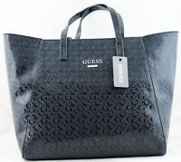 Guess Liberate Black Tote Handbag Bag Purse