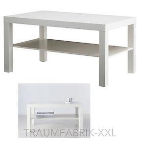 Das Bild Wird Geladen IKEA LACK Couchtisch 90x55 Cm Wohnzimmertisch Weiss Ablagetisch
