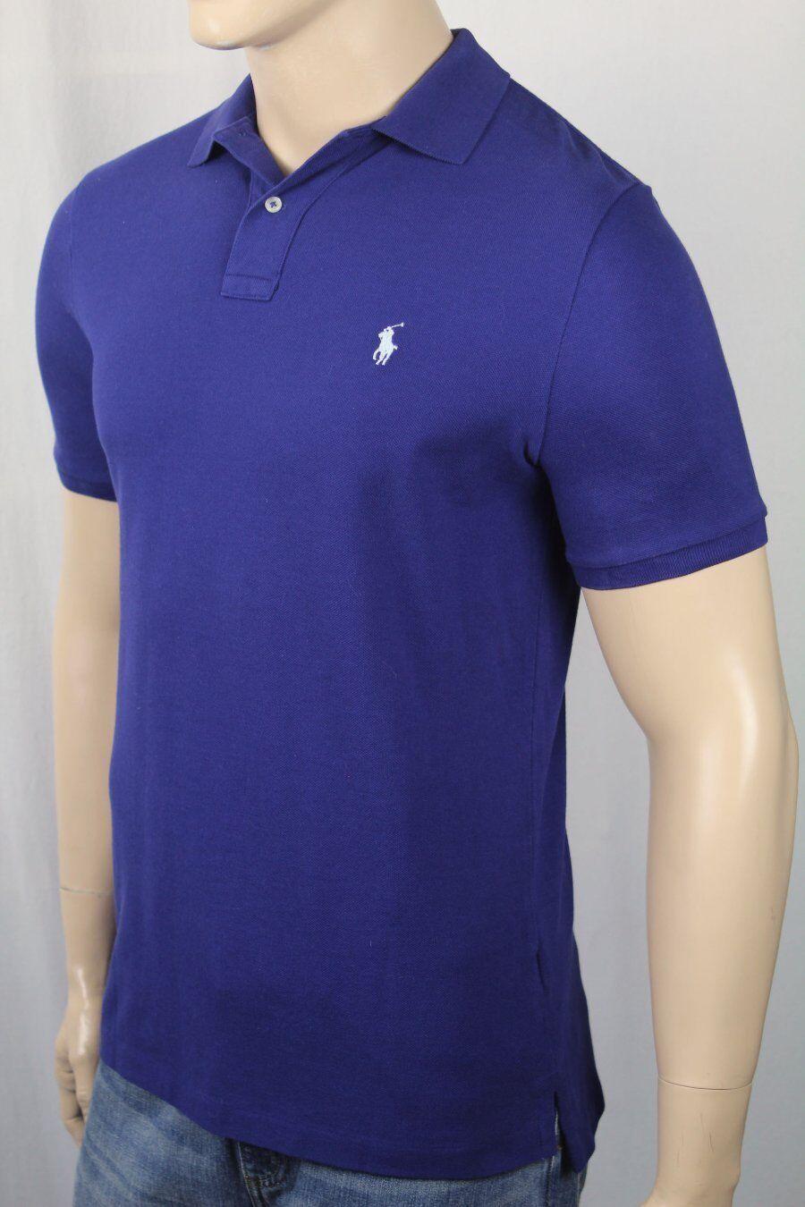 ee980ba0 Polo Ralph Lauren bluee Classic Mesh Shirt bluee Pony NWT Fit Sky ...