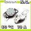 miniatura 1 - Interruttore termico 60°C 60 gradi °C ° normalmente chiuso nc termostato switch