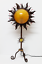 縮圖 1 - VINTAGE Lampara de Sobremesa con Forma de SOL en Hierro Fundido.   Años 70