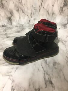 """Nike Air Jordan """"The Best of Both Worlds"""" Red & Black Youth Size 5.5 Sneakers"""