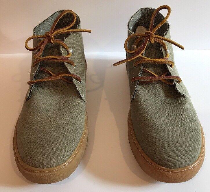 VGC The Generic Man Chuckman Size 8.5 EUR 41.5 Olive Canvas Mens shoes.