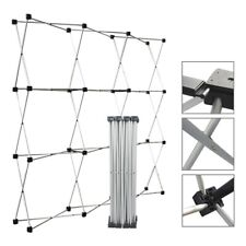 Aluminum Straight Backdrop Booth Frame Trade Show Display Stand 23 23m