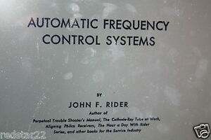 Automatic-Frequency-Control-Systems-by-John-F-Rider-Early-Radio-Book