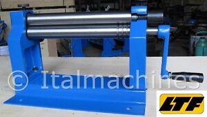 Mini calandra rotolatrice curvatrice manuale lamiera e for Mini pressa idraulica