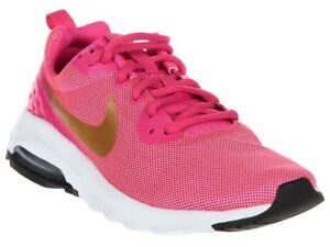 Details about Kids Nike Air Max Motion LW Running 917655 600 Pink Gold White 100% Original New