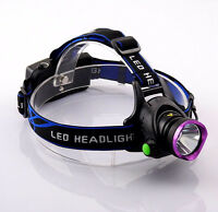 T6 Xml Headlamp Led Lampe Frontale 2000lm Head Ultra Bright For Camping Hunting