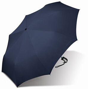 Schirme WohltäTig Esprit Easymatic 3-section Light Schirm Regenschirm Taschenschirm Sailor Blue Einfach Und Leicht Zu Handhaben