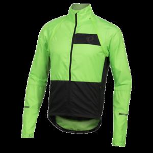 Pearl Izumi Elite Escape Converdeible Ciclismo Bici Chaqueta gritando verde pequeño